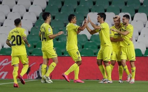 Бетис – Вильярреал –0:2. Видео голов и обзор матча