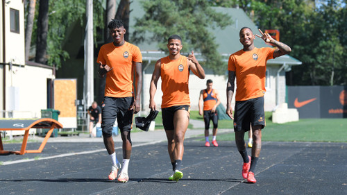 ВИДЕО. Основной состав Шахтера готовится к дерби с Динамо
