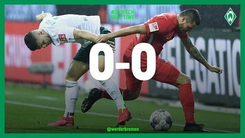Вердер не сумел обыграть Хайденхайм в плей-офф за место в Бундеслиге