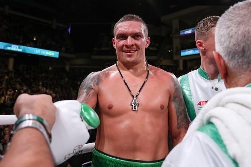 Усик занял второе место в обновленном рейтинге WBC