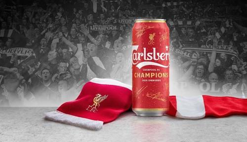 Carlsberg выпустил лимитированную версию пива в честь победы Ливерпуля