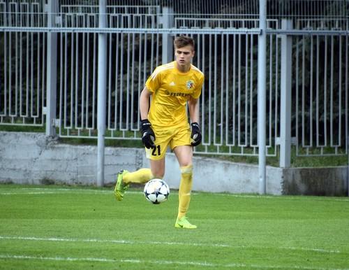 16-летний голкипер Ворсклы Исенко провел первый матч в УПЛ