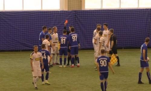 ВИДЕО. Матч молодежных команд в России закончился большой дракой
