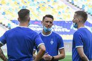 Динамо готовится к финалу Кубка Украины