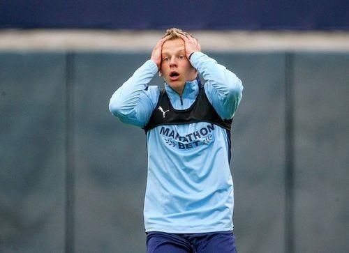 Зінченко став найгіршим гравцем Манчестер Сіті за версією WhoScored