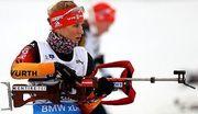 Немецкая биатлонистка приостановила тренировки из-за перелома ребра