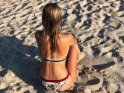 ФОТО. Сногсшибательная биатлонистка Яна Бондарь нежится на пляже