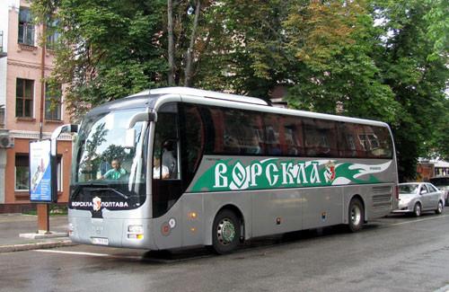 На фарт. Ворскла поехала в Харьков тем же автобусом, что на финал 2009 года