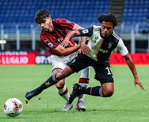 Милан — Ювентус — 4:2. Видео голов и обзор матча