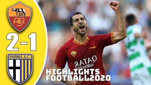Рома – Парма – 2:1. Видео голов и обзор матча