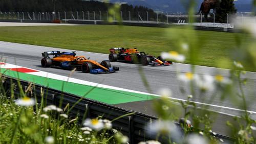 Ферстаппен - найшвидший у 2-й практиці в Австрії, аварія Ріккардо