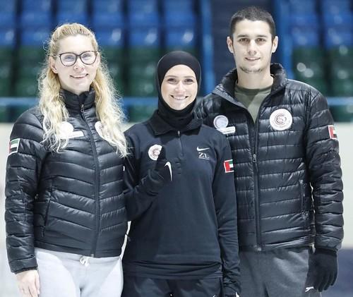 Украинец работает тренером сборной ОАЭ по фигурному катанию