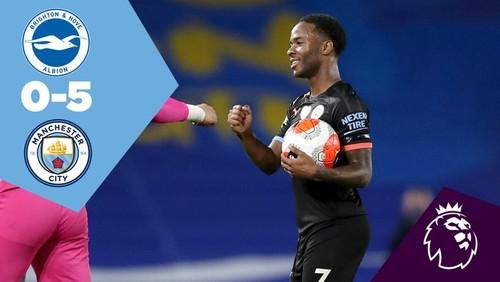 Брайтон - Манчестер Сити - 0:5. Видео голов и обзор матча