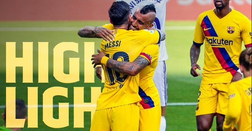 Вальядолид - Барселона - 0:1. Видео гола и обзор матча