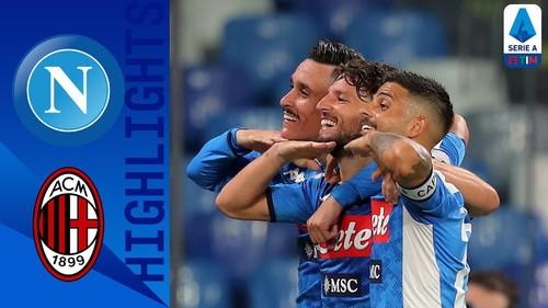 Наполи – Милан – 2:2. Видео голов и обзор матча