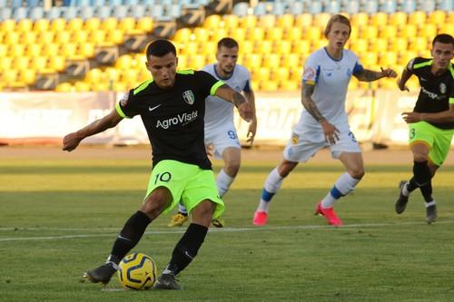 Максим Третьяков вдруге в цьому сезоні забив два м'ячі з пенальті