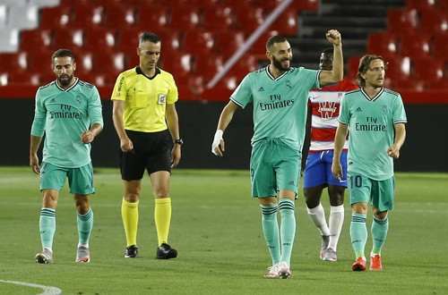 Реал переграв Гранаду і збільшив відрив від Барселони до чотирьох очок