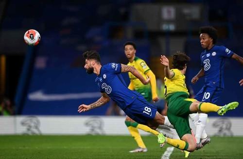 Челсі – Норвіч – 1:0. Гол Жиру приніс перемогу. Відео голу та огляд матчу