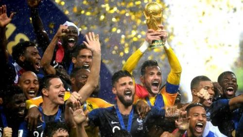 ВИДЕО. Два года назад Франция обыграла Хорватию в финале чемпионата мира
