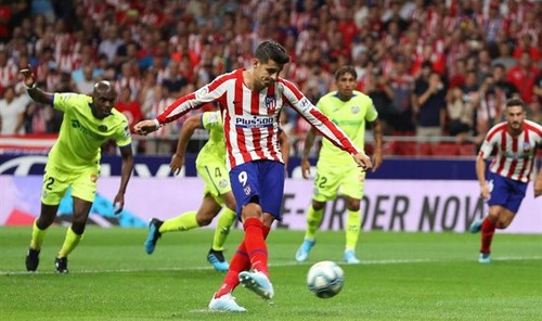 Где смотреть онлайн матч чемпионата Испании Хетафе – Атлетико Мадрид
