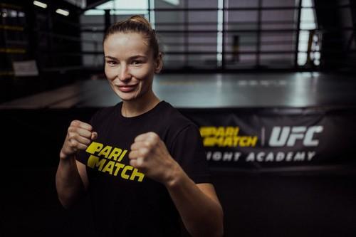 Первая украинка в UFC вошла в команду Parimatch TEAM