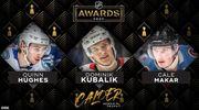 НХЛ. Определены претенденты на звание лучшего новичка и тренера сезона
