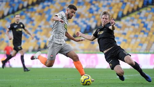 Жуниор Мораес забил 120-й мяч в украинской карьере
