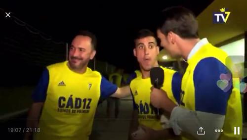 Ейфорія чи наркотики? Гравець Кадіса бурхливо відсвяткував вихід в Ла Лігу