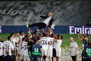 ВІДЕО. Як гравці Реала святкують чемпіонство