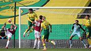 Норвич – Бернли – 0:2. Видео голов и обзор матча