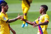 Барселона забила пять мячей Алавесу, Месси отметился дублем