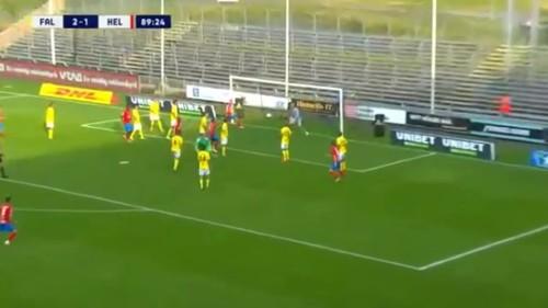 ВИДЕО. Вратарь Хельсингборга повторил знаменитый гол Шмейхеля