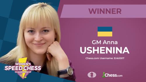 Шахматистка Ушенина обыграла россиянку в финале по блицу