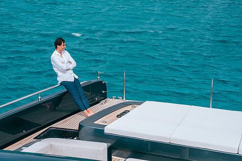 ФОТО. Надаль впервые вышел в море на новой яхте стоимостью в 5 млн евро