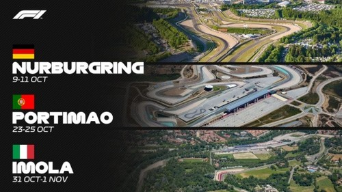 ОФИЦИАЛЬНО. Ф-1 добавила в календарь гонки в Португалии, Италии и Германии