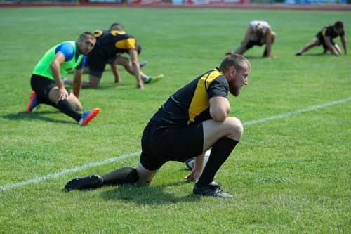 Регбисты Ярославского готовятся к возобновлению чемпионата