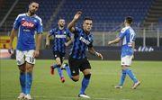 Интер выиграл у Наполи и обогнал Аталанту в борьбе за второе место