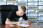 Мирошниченко подписал новый контракт с Александрией