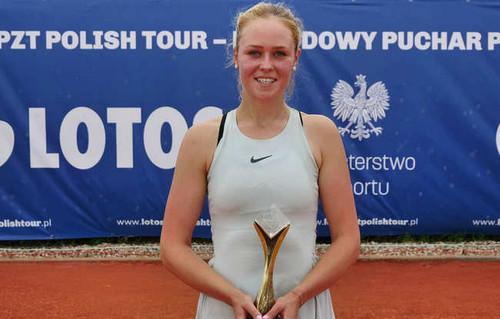 Шошина выиграла турнир польской теннисной серии