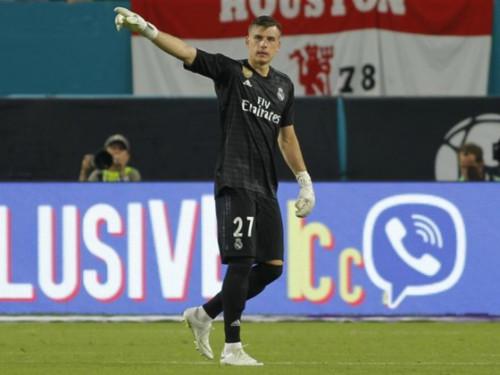 Лунін - не Альфонс, він буде вбиватися за місце в воротах Реала