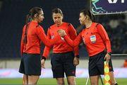 Монзуль будет работать на финальной стадии женской Лиги чемпионов