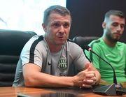 Ребров посетил базу Динамо в Конча-Заспе