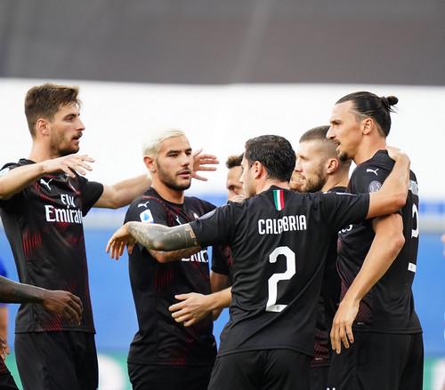 Сампдория — Милан — 1:4. Видео голов и обзор матча