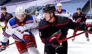 НХЛ вернулась. Рейнджеры проиграли Каролине в первом матче плей-офф