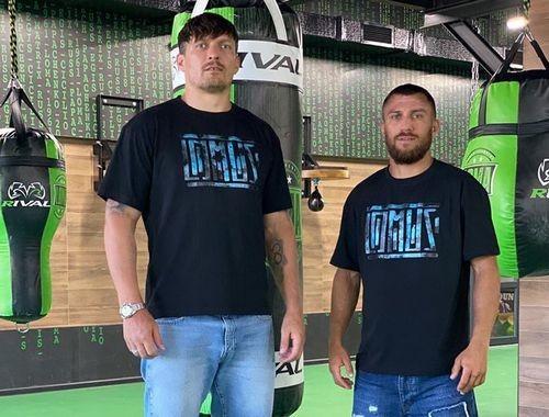 ВИДЕО. Усик и Ломаченко готовятся к боям, играя в теннис