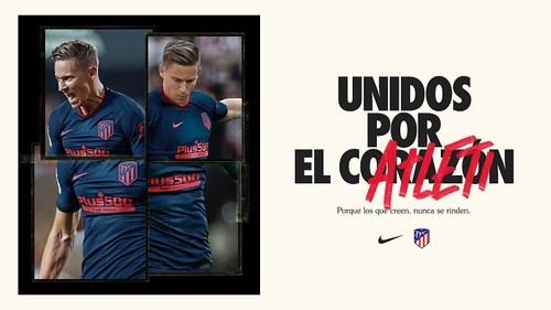 ВИДЕО. Атлетико представил выездную форму на новый сезон