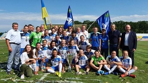 Завершився жіночий чемпіонат України з футболу 2019-2020 років