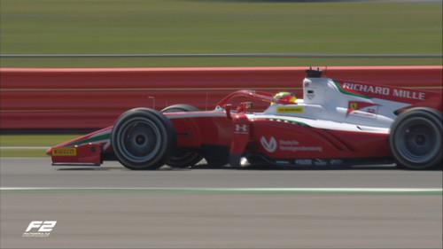 Неудачная гонка Шумахера. Мик стартовал 3-м, а финишировал 9-м
