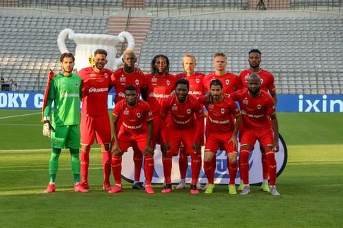 Брюгге Соболя програв фінал Кубка Бельгії Антверпену Мбокані
