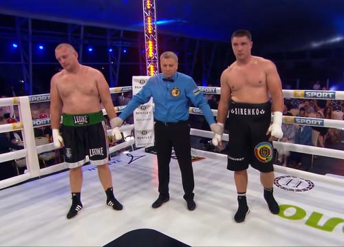 Отправил в нокдаун. Владислав Сиренко – Павел Кроленко. Видео боя